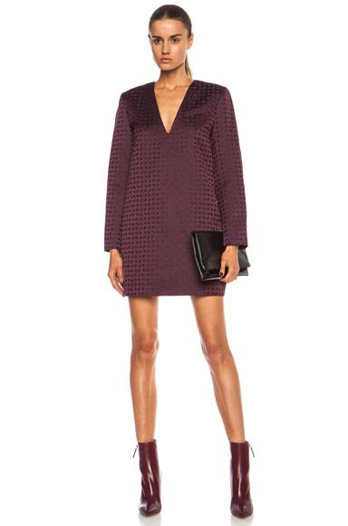 ALEXANDER WANG | Micro Paisley Tunic Silk-Blend Dress in Stardust
