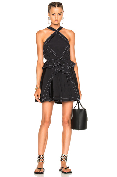 Alexander Wang Sleeveless Dress in Black
