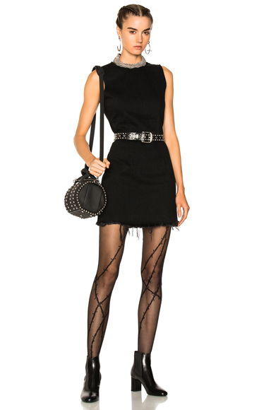 Alexander Wang Zip Dress in Black