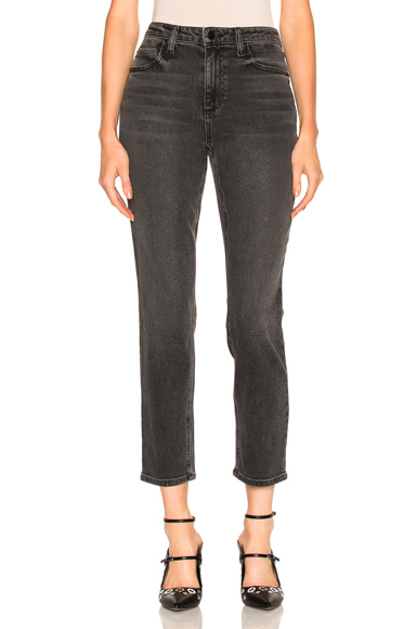 Alexander Wang High Rise Straight in Gray. - size 24 (also in 25,26,27,28)