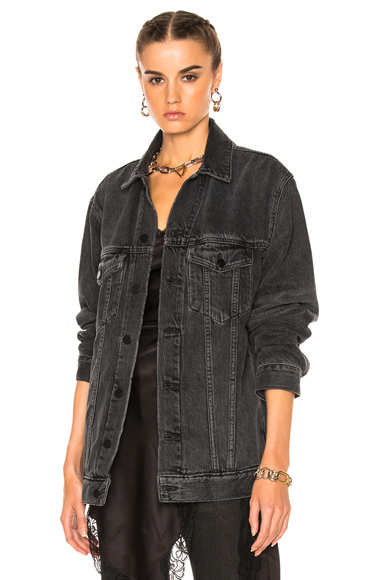 Alexander Wang Daze Jacket in Black