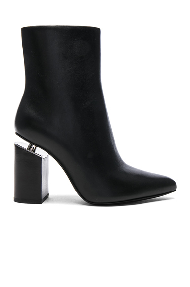 Alexander Wang Kirby Leather Boots in Black