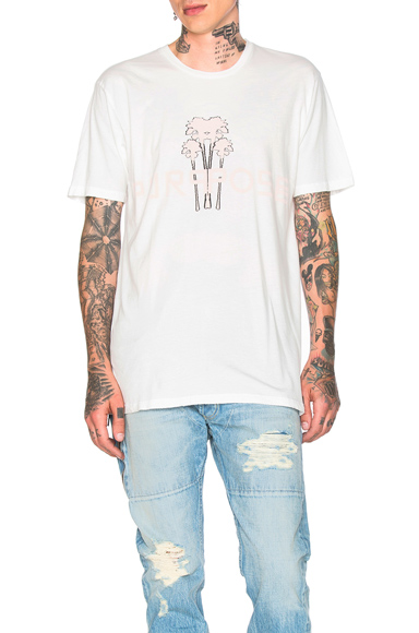 Baja East Purpose Tee in White. - size 3 (also in )