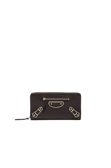 Classic Continental Zip AJ Wallet at FORWARD by elyse walker
