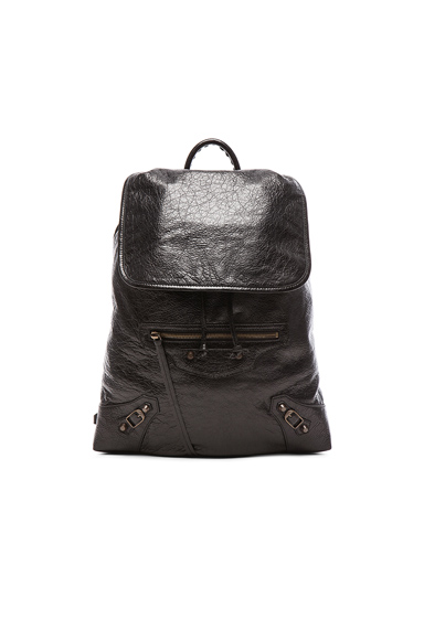 Classic Small Traveler Backpack with Traditional Studs at FORWARD by elyse walker