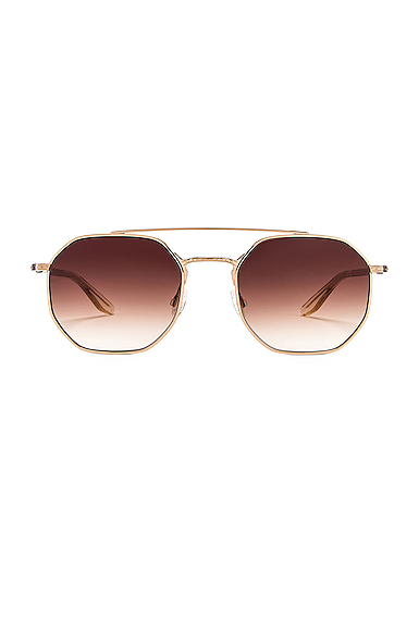 BARTON PERREIRA | Barton Perreira Metis Sunglasses In Brown. | Goxip