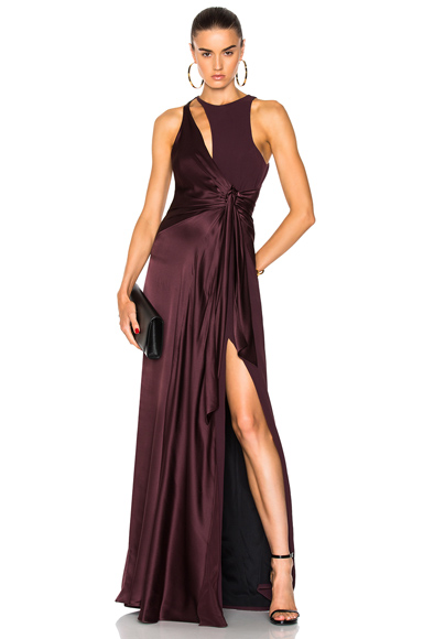 Cinq a Sept Clemence Gown in Red