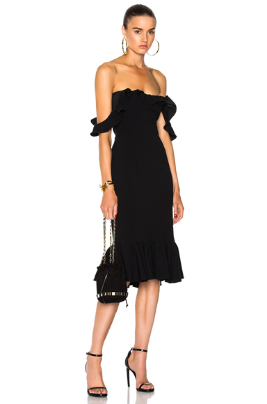 Cinq a Sept Opalina Dress in Black