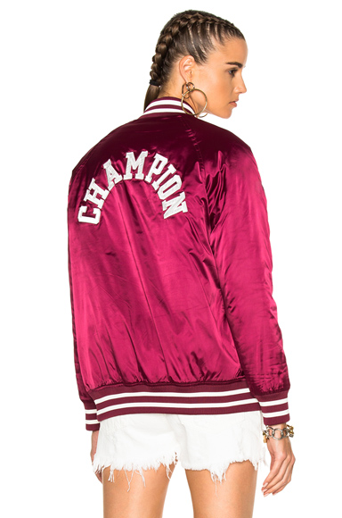 Champion Nylon Jacket in Red