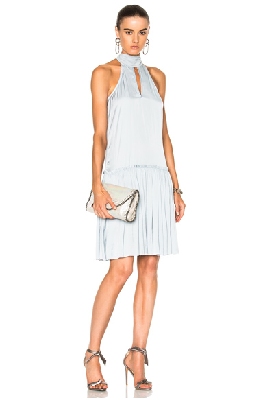 Calvin Rucker for FWRD Can't Stop Won't Stop Dress in Blue
