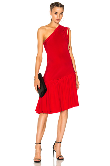 Calvin Rucker for FWRD Take Off Dress in Red