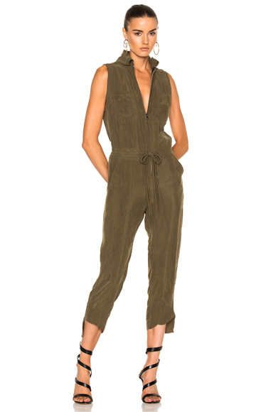 Calvin Rucker Whats Luv Jumpsuit in Green