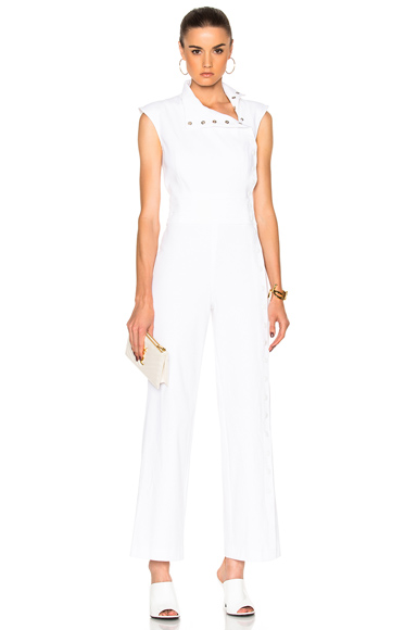 Carolina Ritzler Maria Jumpsuit in White