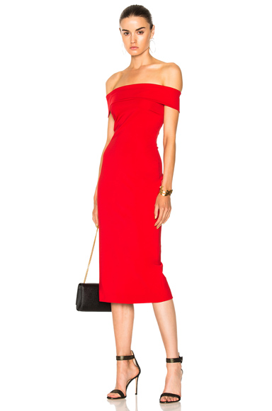 Cushnie et Ochs Pencil Dress in Red