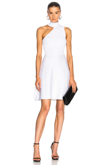 Cushnie et Ochs Vika Dress in White