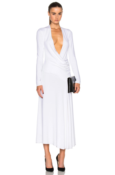 Cushnie et Ochs Grace Dress in White