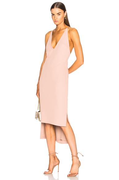 Dion Lee Fine Line Dress in Neutrals, Pink