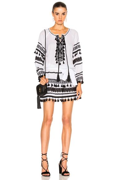 Dodo Bar Or Malka Mini Dress in Black, White