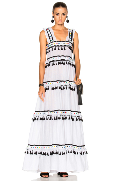 Dodo Bar Or Amal Dress in Black, White
