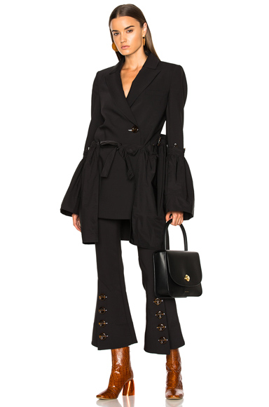 Ellery Riot Grrl Jacket in Black