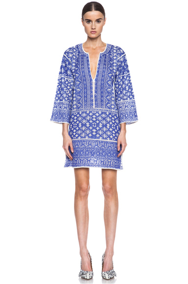 Isabel Marant Etoile|Bloom Knit Dress in Blue [1]