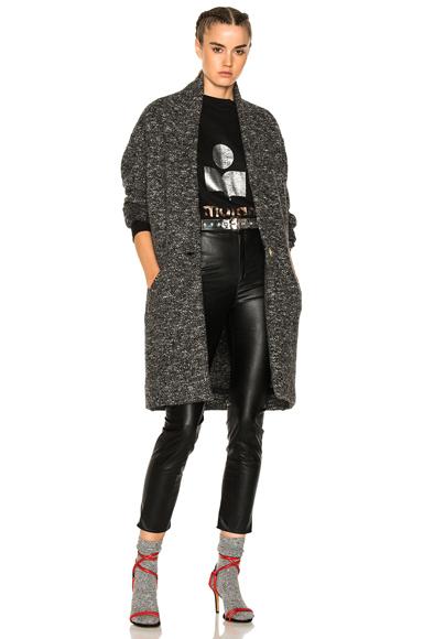 Isabel Marant Etoile Osbert Coat in Gray
