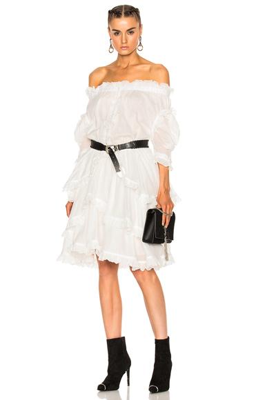 Faith Connexion Sail Dress in White