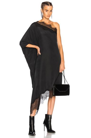 Faith Connexion Asymmetrical Dress in Black