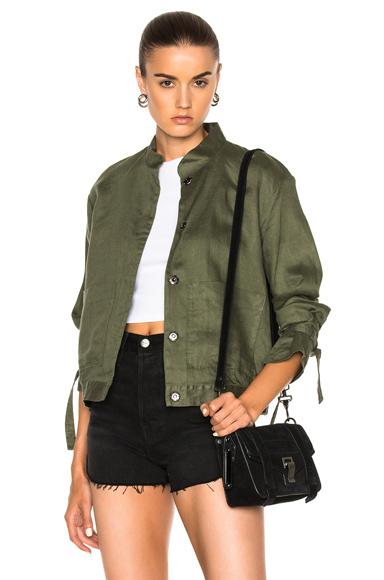 FRAME Denim New Jacket in Green