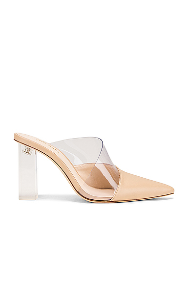 CULT GAIA | Cult Gaia Krystle Mule In Neutral. - Size 40 (Also In 38.5) | Goxip