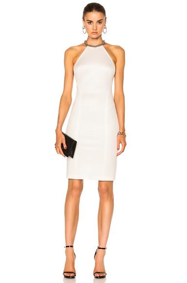 GALVAN Desert Stone Dress in White