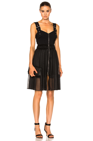 Givenchy Buckle Strap Dress in Black