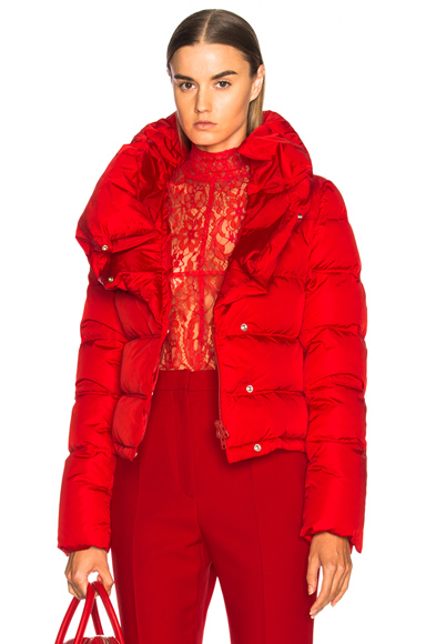 Givenchy Puffer Jacket in Red