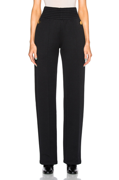 Givenchy Felpa Trousers in Black. - size 34 (also in 36,38,40)