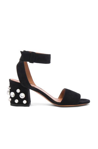 Givenchy Crystal Embellished Sandals in Black