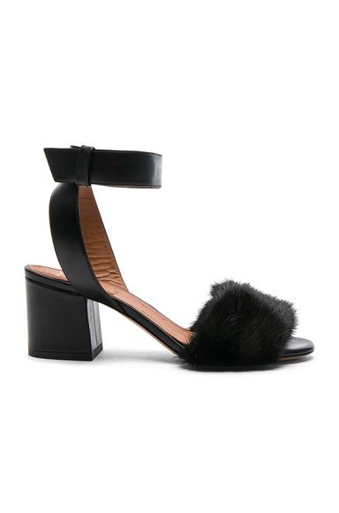 Givenchy Mink Paris Heels in Black