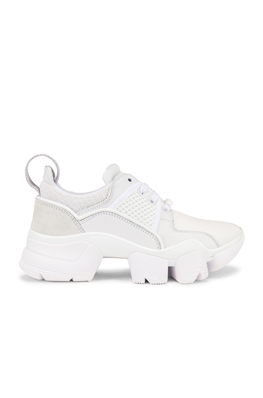 GIVENCHY | Givenchy Jaw Low Sneakers In White. - Size 35 (Also In 35.5,36,36.5,40,41) | Goxip