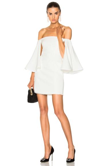 Houghton for FWRD Gamila Mini Dress in White