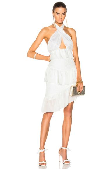 Houghton for FWRD Alina Mini Dress in White