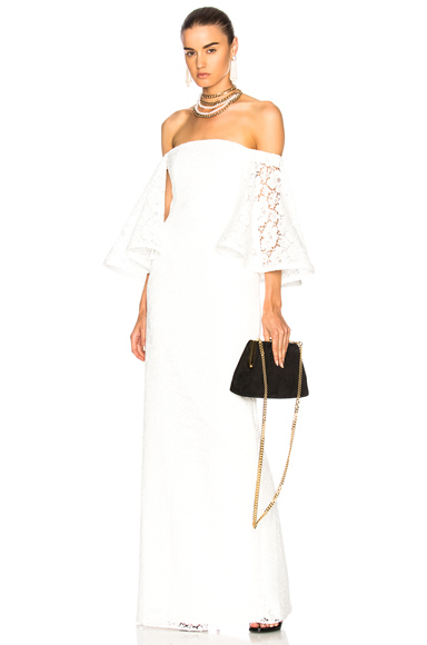 Houghton for FWRD Gamila Gown in White