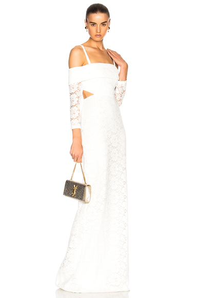 Houghton for FWRD Chase Gown in White