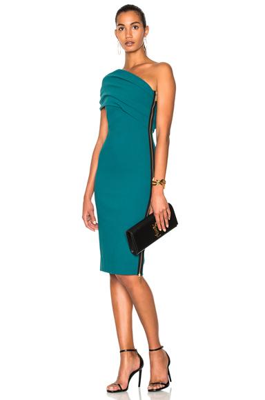 HANEY Alexandria Dress in Green