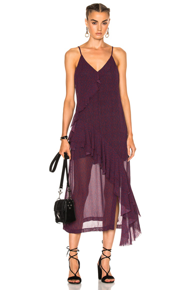 IRO Granby Dress in Purple