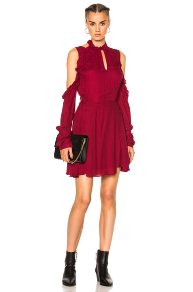 IRO Hanie Dress in Red