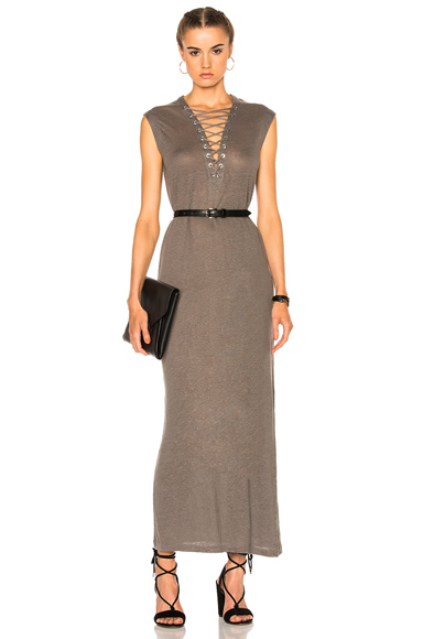 IRO Daisy Dress in Gray
