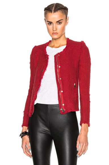 IRO Agnette Jacket in Red
