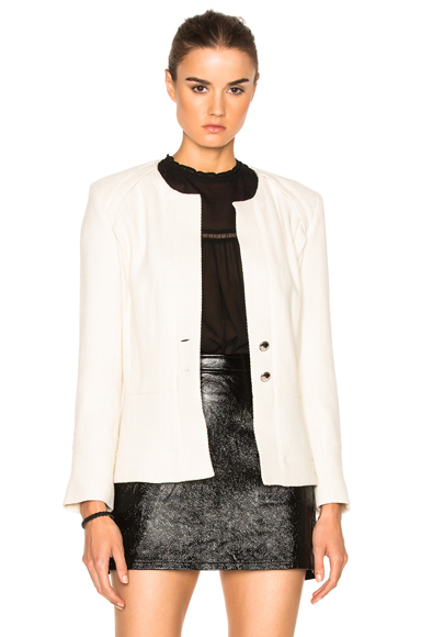 IRO Vincey Jacket in White