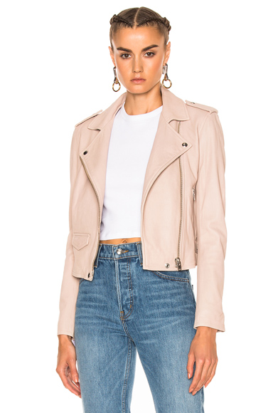 IRO Ashville Jacket in Neutrals, Pink