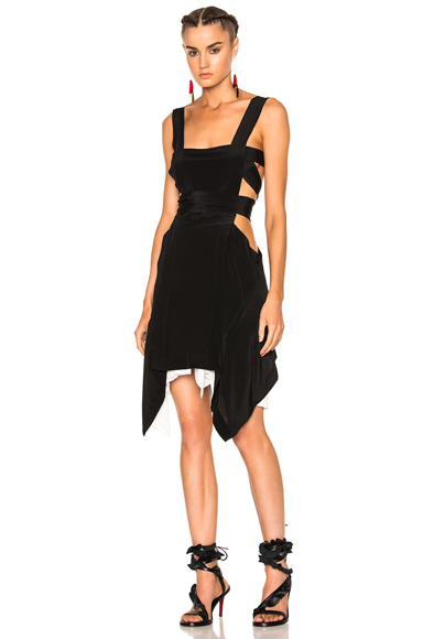 Isabel Marant Odine Dress in Black