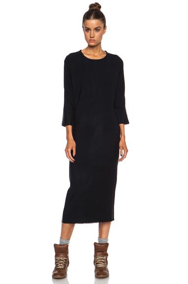 ISABEL MARANT | Deena New Stretch Wool Dress in Midnight